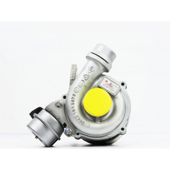 Turbocompresseur pour  échange standard 1.5 dCi 100 CV KKK (5439 988 0027)