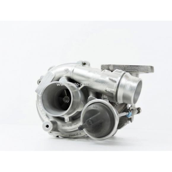 Turbocompresseur pour  Nissan Interstar 2.5 dCi 101 CV GARRETT (757349-5004S)
