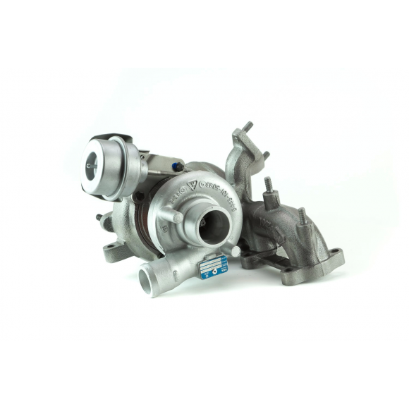 Turbocompresseur pour Volkswagen Polo 4 1.9 TDI 100CV KKK (5439 988 0017)