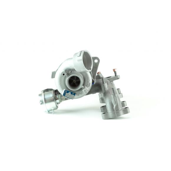 Turbocompresseur pour  Volkswagen Caddy 3 1.9 TDI 105CV KKK (5439 988 0029)